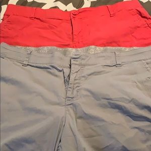 Two pair women's shorts